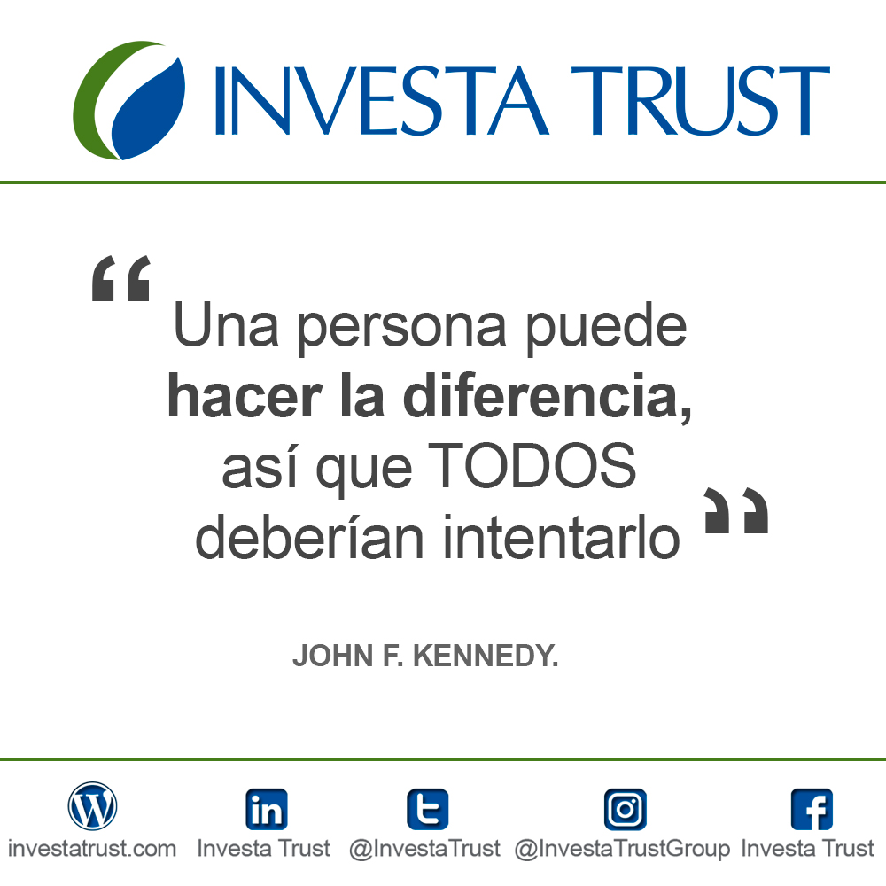 Frase- Quote JOHN F. KENNEDY.